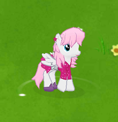 Glitter Pony Character Image