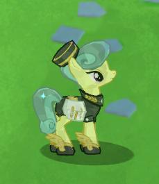 Mercury Pony - In game