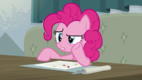 "Pinkie whispering ""whatever this is"" S6E12"