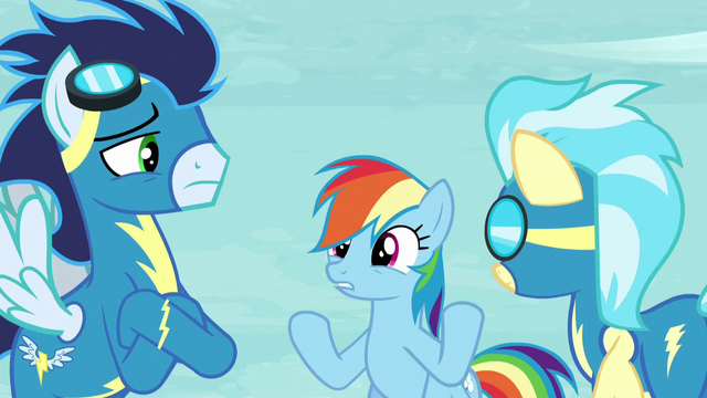 File:Soarin and Misty Fly sees Rainbow S5E15.png