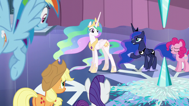 """File:Luna """"This far north, the weather has a will of its own"""" S6E2.png"""