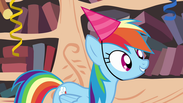 "File:Rainbow Dash asks ""where she lives"" S4E04.png"