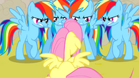 Rainbow Dash clones S2E26