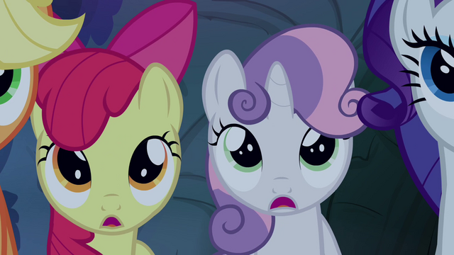 File:The other ponies hearing the story S3E06.png