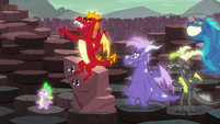"Garble ""It's Dragon Lord Torch!"" S6E5"