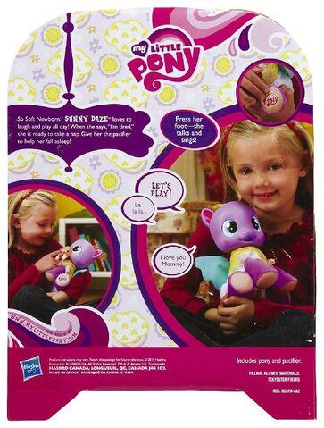File:So Soft Newborn Sunny Daze doll back of package.jpg