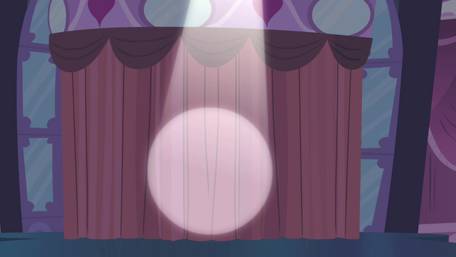 File:Spotlight points to the curtain S4E13.png