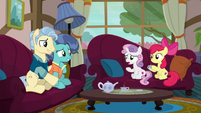 """Sweetie Belle confused """"unsettling?"""" S6E19"""