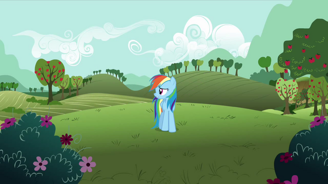 File:Rainbow Dash 'Thanks Pinkie..' S3E3.png