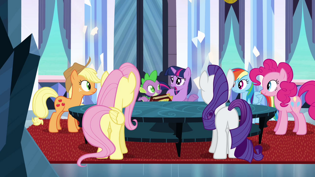 File:Fluttershy Wings on Flank S3E1.png