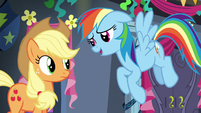 "Rainbow Dash ""I'd love to tell you"" S6E7"