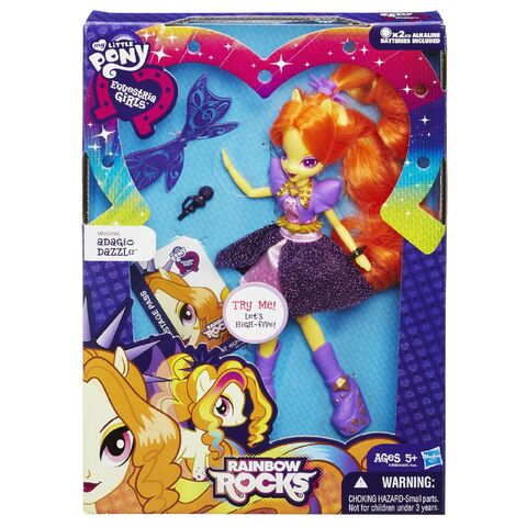 File:Adagio Dazzle Rainbow Rocks singing doll packaging.jpg