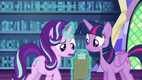 Starlight double-checking the checklist S6E21