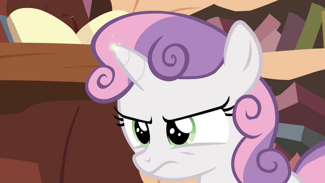 File:Magic spark on Sweetie's horn S4E15.png