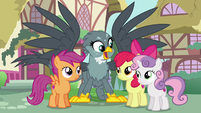 """Gabby singing """"CMCs, you're gonna help me"""" S6E19"""