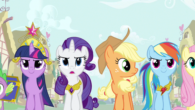 File:Rarity & group amassing S3E13.png