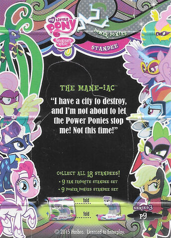 File:The Mane-iac series 3 trading card standee back.jpg
