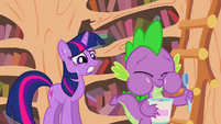 Spike enjoying ice cream S2E20
