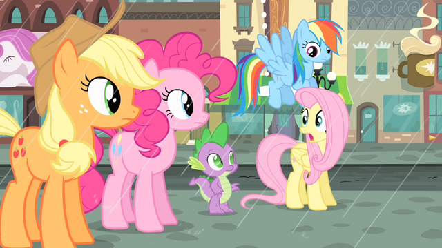 File:Fluttershy 'We've gotta help her find a cab, now!' S4E08.png