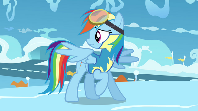File:Rainbow looks behind her S3E07.png