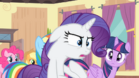 Rarity '...it looks like I'm the one copying her!' S4E08