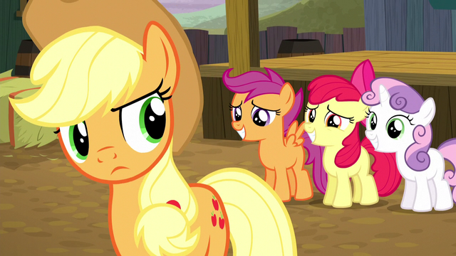 File:CMCs ask Applejack to compete S5E6.png