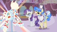 Rarity eyes twinkling S1E19