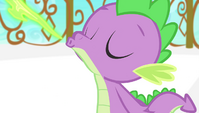 Spike breathing fire S4E24