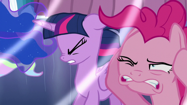 File:Twilight and Pinkie hear Flurry Heart cry S6E1.png