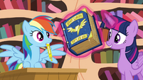Twilight levitating book S4E21