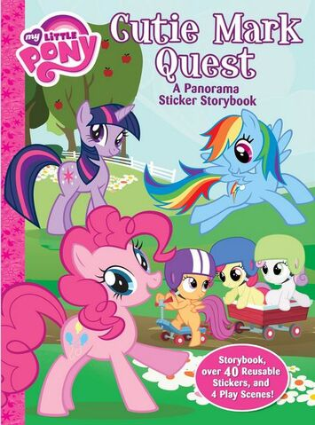 File:My Little Pony Cutie Mark Quest sticker storybook cover.jpg
