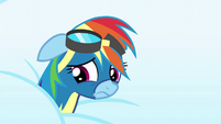 Rainbow Dash feeling ashamed S6E7