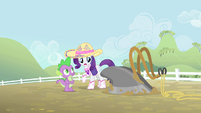 Rarity 'And maybe a wash!' S4E13