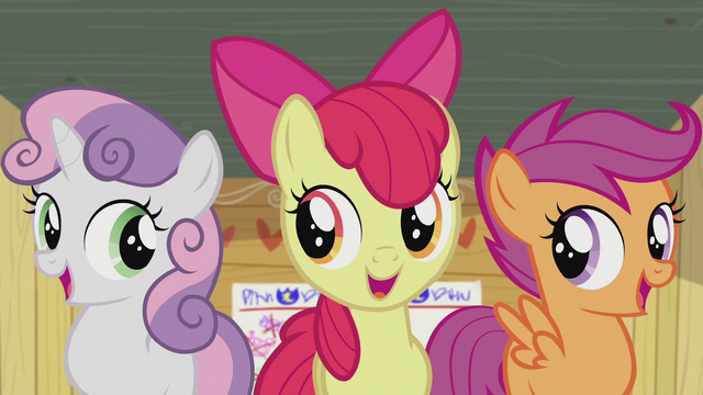 """File:CMC sings """"...cutie marks!"""" S5E18.png"""
