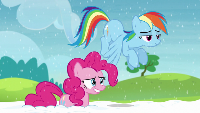 File:Pinkie and Rainbow look back at yaks S5E11.png