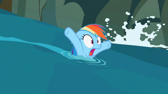File:Rainbow Dash panicking S02E08.png