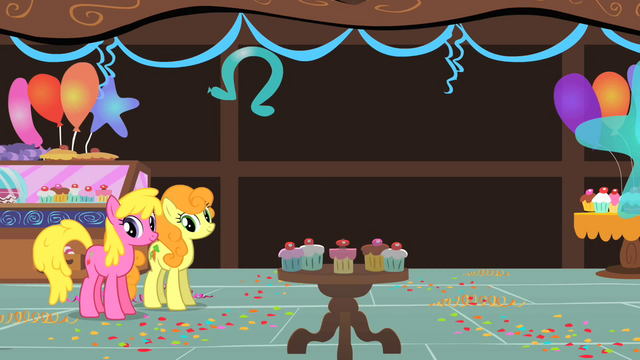File:Cherry Berry and Golden Harvest watching Pinkie Pie S01E22.png