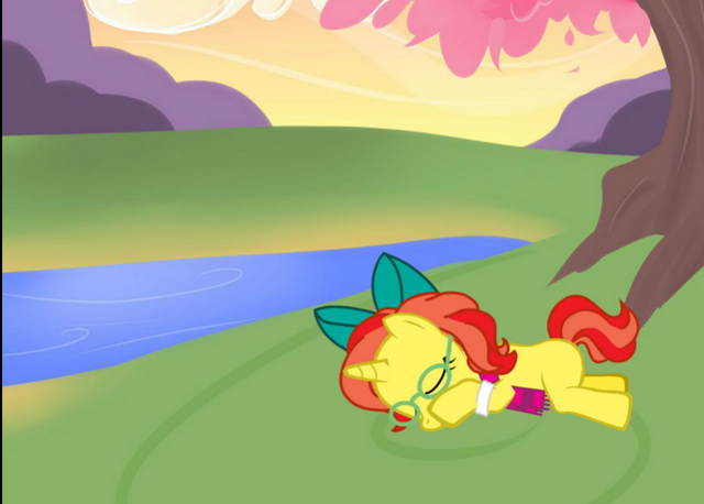 File:FANMADE Just the sleepy by PinkieAppleShy.png