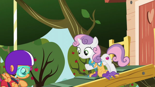 "File:Sweetie Belle ""that's amazing!"" S6E4.png"