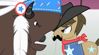 Thunderhooves and Silverstar face to face S1E21