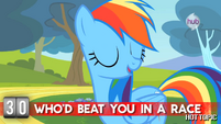 "Hot Minute with Rainbow Dash ""I'm unbeatable"""