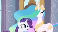 Princess Celestia smirk S2E9