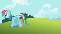 Rainbow Dash hard way S2E8