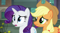 "Rarity ""perhaps I spoke too soon"" S5E16"