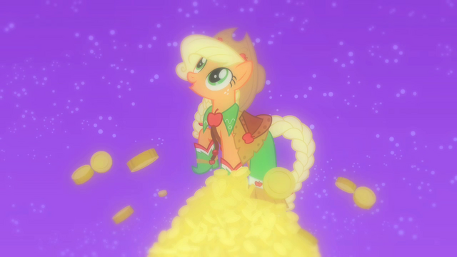 "File:Applejack fantasy ""I'll earn a lot of money"" S1E26.png"