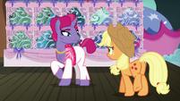 Applejack walks up to trainer pony 2 S6E20