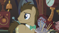 Dr. Hooves hears electrical sound S5E9