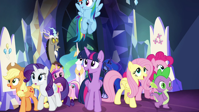 File:Main cast impressed by throne room S4E26.png