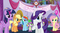 """Rarity """"I don't think she meant to"""" S5E14"""