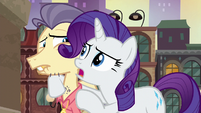 "Rarity ""did she just clench her jaw?!"" S6E3"